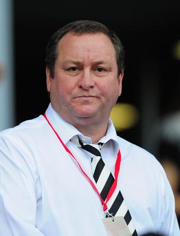Rangers shareholder: Mike Ashley