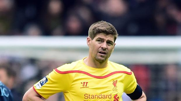 Steven Gerrard will return to training with Liverpool next week
