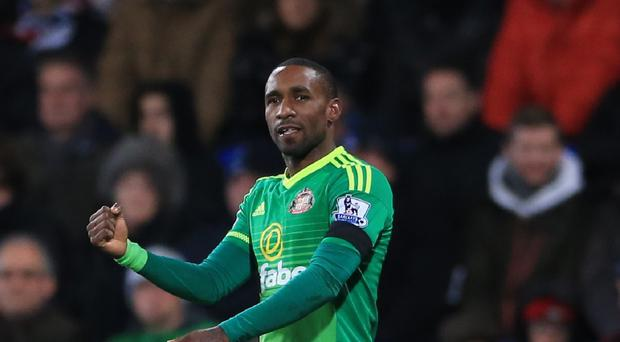 Sunderland striker Jermain Defoe could be fit for Saturday's home clash with Stoke