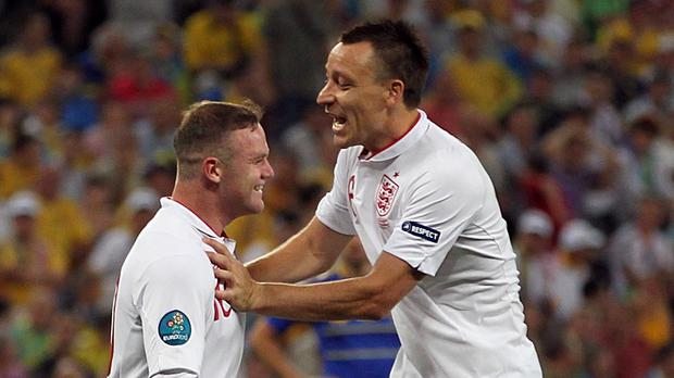 Wayne Rooney and John Terry are the only English players shortlisted for the FIFA FIFPro World XI 2015