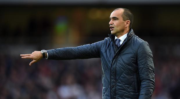 Roberto Martinez expects his Everton team to be
