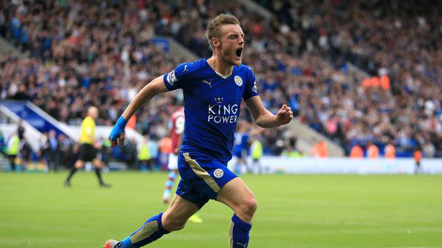 Jamie Vardy has become an England international after playing non-league football in 2012