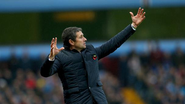 Aston Villa manager Remi Garde knows there is lots of room for improvement