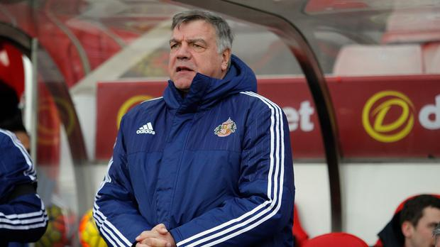 Sam Allardyce thinks Sunderland still have a lot of hard work ahead