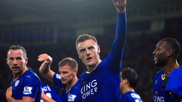 Jamie Vardy rewrote the history books at the King Power Stadium on Saturday