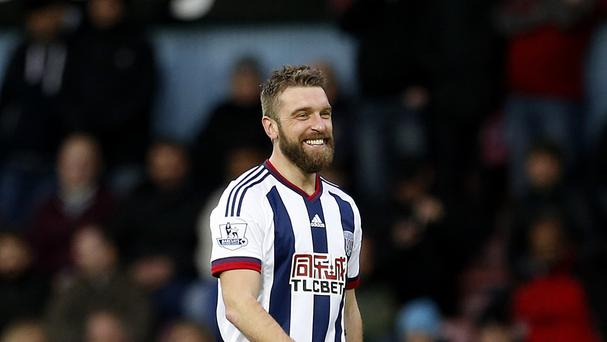Rickie Lambert was all smiles after rescuing a point for West Brom