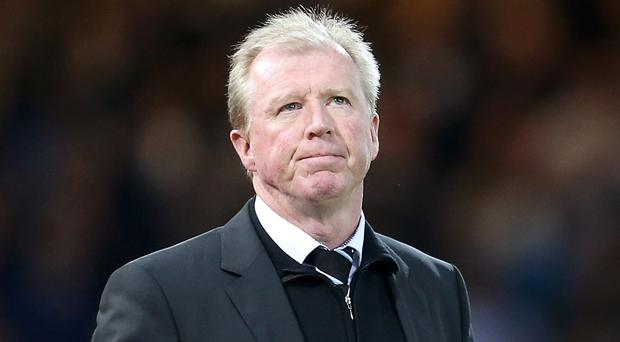 Steve McClaren, pictured, hopes to retain the backing of Newcastle's board for the club's Premier League relegation battle