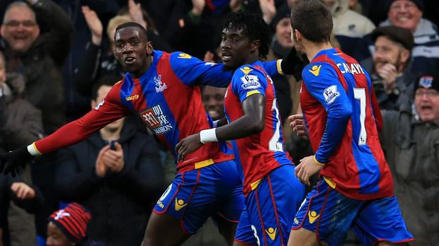Yannick Bolasie is feeling confident after scoring two goals against Newcastle