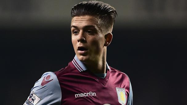 Jack Grealish was left out of the Aston Villa squad for the home game against Watford