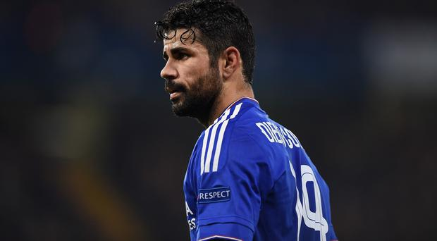 Frustrated Chelsea striker Diego Costa threw his substitutes bib at Jose Mourninho at White Hart Lane
