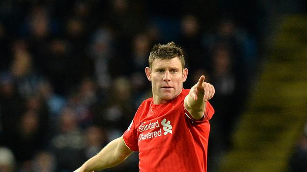 Liverpool vice-captain James Milner will miss clash