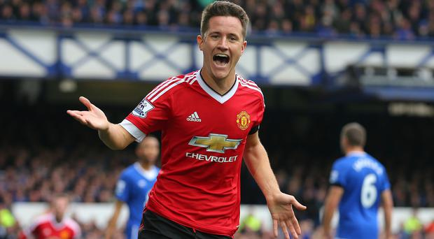 Ander Herrera has scored 11 goals since joining Manchester United in the summer of 2014