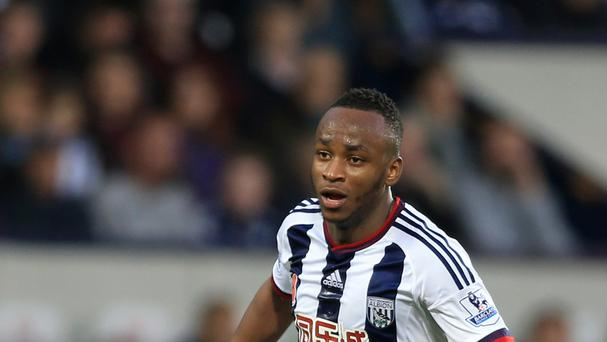 West Brom's Saido Berahino has been benched at the Baggies in recent weeks.