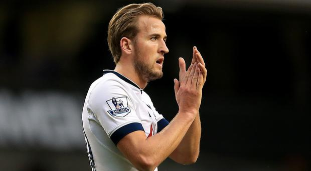 Harry Kane has played in all of Tottenham's 20 matches so far this season