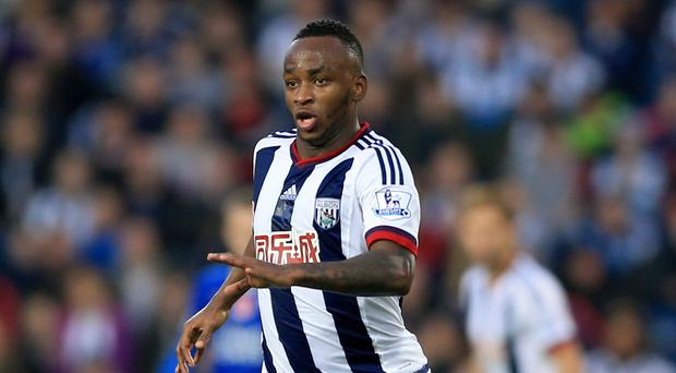 West Brom's Saido Berahino has scored three goals this season after seeing a move to Tottenham blocked.