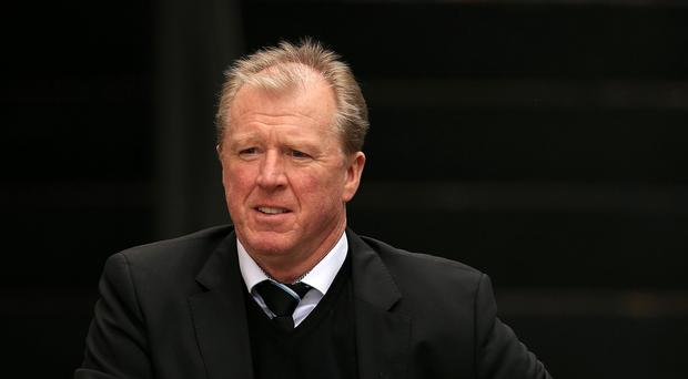 Newcastle head coach Steve McClaren insists his players are trying