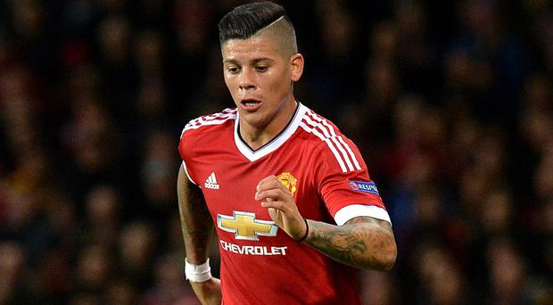 Marcos Rojo will be sidelined for several weeks by a shoulder injury