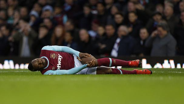 Diafra Sakho faces three months on the sidelines with a thigh injury