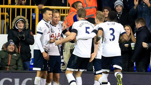Tottenham are four points off first place ahead of Saturday's trip to West Brom.