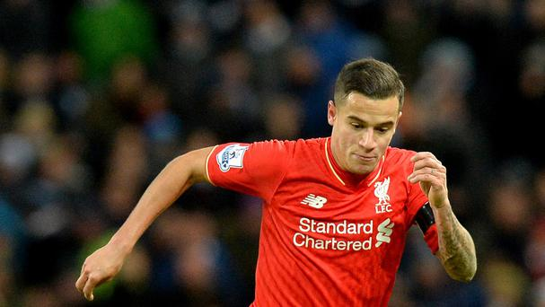Philippe Coutinho is a doubt for Liverpool's trip to Newcastle.