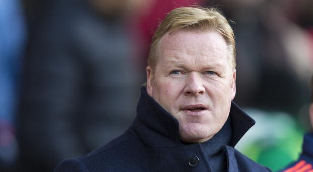 Southampton manager Ronald Koeman wants his players to come out fighting against Aston Villa