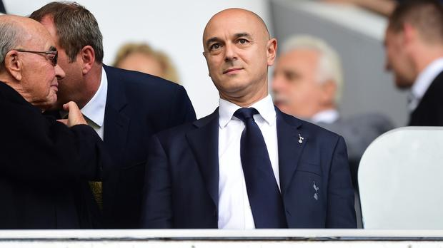 Mauricio Pochettino is enjoying working with Daniel Levy, pictured
