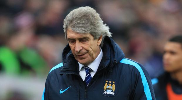 Manuel Pellegrini's men are still chasing a quadruple this year