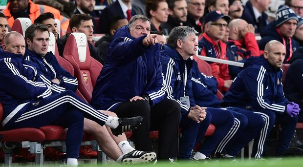 Sunderland manager Sam Allardyce was impressed with his side's display at Arsenal