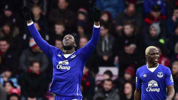 Everton's Romelu Lukaku is scoring and impressing on a regular basis