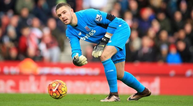 Jack Butland is not pushing for a move away from Stoke