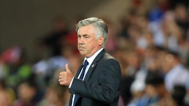 Carlo Ancelotti, who has won the Champions League three times as a manager, is currently without a club.