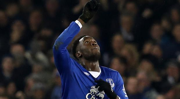 Romelu Lukaku notched his 50th Everton goal on Monday night