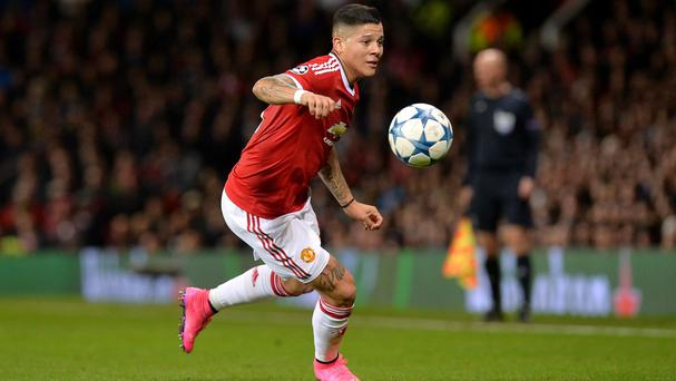 Marcos Rojo has had a shoulder operation