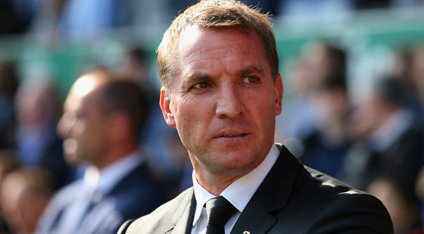 In demand: Brendan Rodgers has emerged as the front runner for the vacant post at Swansea