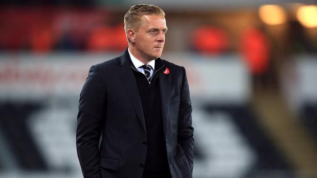 Garry Monk leaves Swansea with the club having won only once in their last 11 league games
