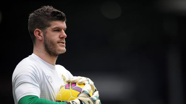 Fraser Forster has been out injured since March
