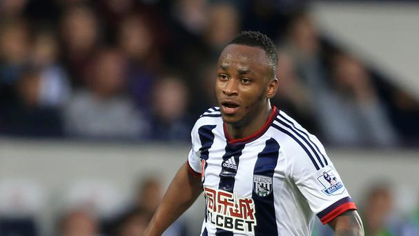 Saido Berahino has been on the bench for West Brom's last four games