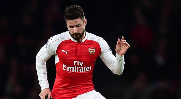 Arsene Wenger believes Olivier Giroud is among the best strikers in Europe