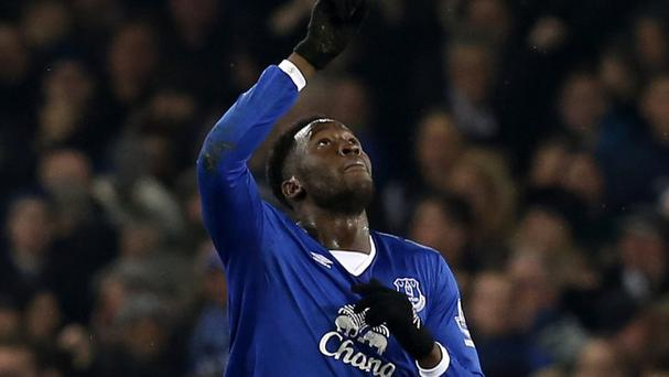 Romelu Lukaku scored his seventh goal in six games against Crystal Palace on Monday