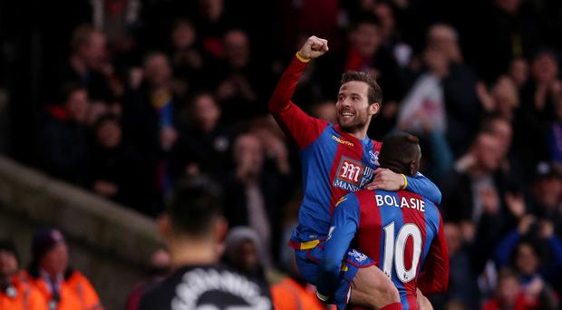 Yohan Cabaye inspired Crystal Palace to victory over Southampton