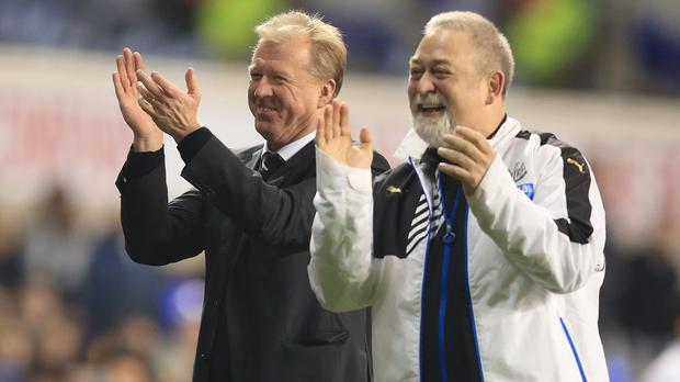 Steve McClaren's Newcastle side are now three places above the relegation zone