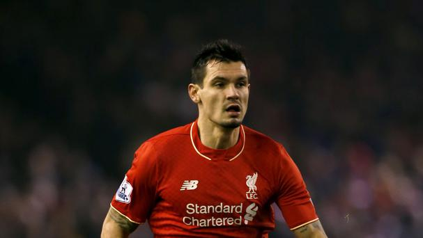 Liverpool defender Dejan Lovren is likely to be out for a month with a knee injury