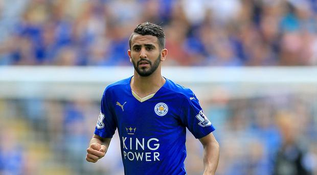 Riyad Mahrez has had an impressive season for the Foxes