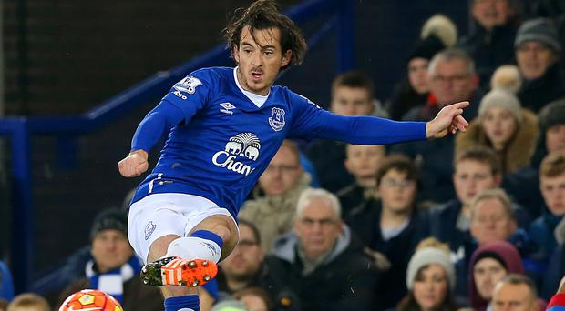 Everton defender Leighton Baines is looking forward to a pain-free future.