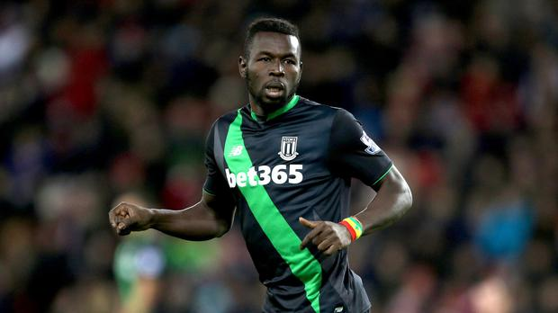 Mame Diouf was granted compassionate leave by Stoke after his mother died in September.