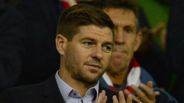 Steven Gerrard, pictured, is a big fan of Liverpool manager Jurgen Klopp