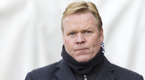 Southampton manager Ronald Koeman is concerned his team could join the battle against relegation