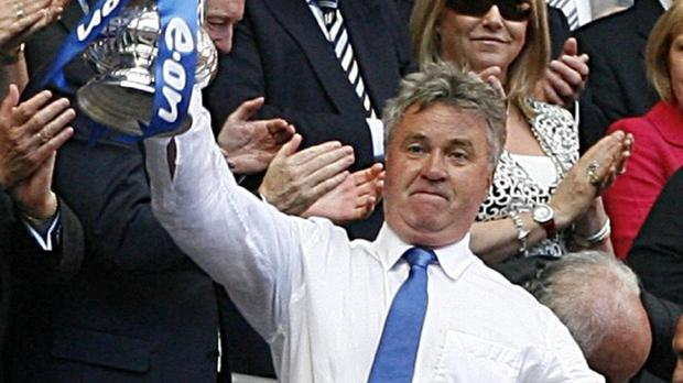 Guus Hiddink looks set to be named as Chelsea's new manager