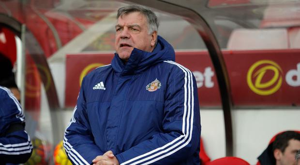 Sunderland manager Sam Allardyce takes his side to Chelsea on Saturday