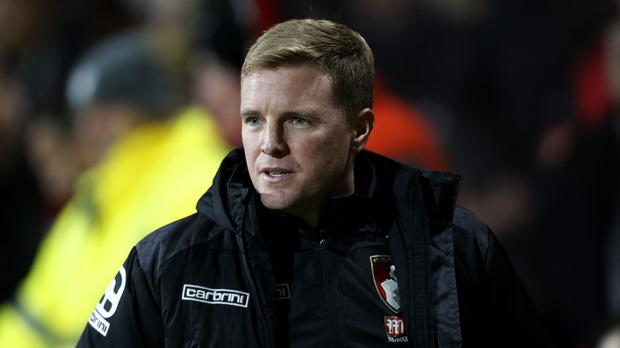 Bournemouth manager Eddie Howe, pictured, takes on his former boss Tony Pulis at West Brom